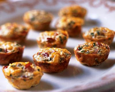 Lunch box snack of the week: Mini ham and cheese muffins
