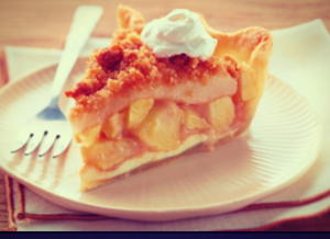 Lunch box snack of the week: Apple crumble.