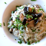 Mighty Mom Meatless Monday: Mushroom Risotto